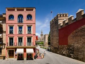 habitaciones de hotel en pleno centro de Sevilla